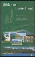 SACHBÜCHER Bilder Aus Deutschland Mit Originalmarken Und Stempeln, Herausgegeben Von Der Deutschen Post 1996 - Livres, BD, Revues