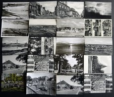 DEUTSCHLAND ETC. EIDERSTEDT, 40 Verschiedene Ungebrauchte Schwarz/weiß Ansichtskarten Aus Den 50iger Jahren - Allemagne