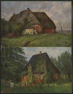 DEUTSCHLAND ETC. FRIESISCHE BAUERNHÄUSER, 2 Verschiedene Ungebrauchte Karten, Serie 817 - Allemagne