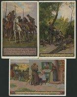 ALTE POSTKARTEN - BALTISC Unsere Feldgrauen, 3 Verschiedene Karten Der Serie: Nr. 7,12 Und 19, Feldpostkarten 1916/7 - Postales