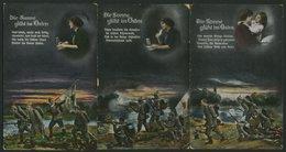 ALTE POSTKARTEN - BALTISC Die Sonne Glüht Im Osten, 3 Verschiedene Karten Der Serie: Nr. 5678II, IV Und VI, Feldpostkart - Postales