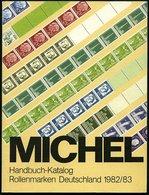 PHIL. KATALOGE Michel: Rollenmarken Deutschland Katalog 1982/3 - Philatélie