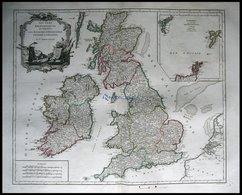 Großbritannien Und Irland, Les Isles Britanniques, Les Royaumes D` - Maps