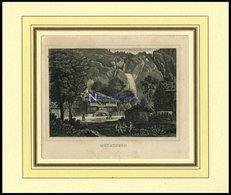 MAYRINGEN/KANTON BERN, Gesamtansicht, Stahlstich Um 1840 - Lithographies