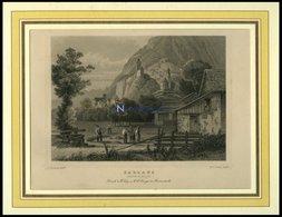 SARGANS, Teilansicht, Stahlstich Von Rohbock/Cooke Um 1840 - Litografía
