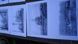 ( Geraardsbergen ) 16   A4 Reproducties  Postkaarten Overboelare (zie Foto's) - Geraardsbergen