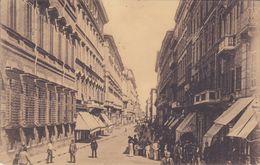 ROMA - VIA DEL CORSO - VEDUTA ANIMATISSIMA DA PIAZZA VENEZIA - 1911 - Piazze