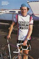 CARTE CYCLISME PASCAL CHURIN SIGNEE TEAM SERGECO LECOULANT 1979 - Wielrennen