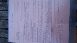 Ath - Maffles - Recrutement  1944 Prestation De Surveillance Le Long De La Voie Ferrée - Documenti Storici