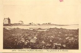 - Morbihan -ref-D959- Carnac Plage - Vue Generale De La Genèze - Villas - Edit. Riviere Bureau - Pons - N°2974 - - Carnac