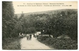 RC 10711 CPA 26 ENVIRONS DE VALENCE BEAUME LES BAINS LES GROTTES DU CÉLÈBRE BANDIT MANDRIN DROME - Valence