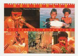 Ansichtkaart-postcard Aboriginals Art Culture Dreamtime Australia (AUS) - Aborigenes