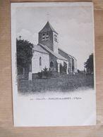 CPA - POINCON LES LARREY -  L'EGLISE - France