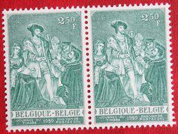 Painting J.B. De Tassis Art OBC N° 1093 (Mi 1146) 1959 POSTFRIS MNH ** BELGIE BELGIEN / BELGIUM - Unused Stamps