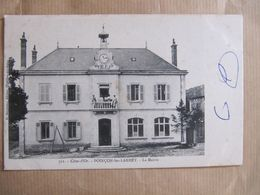CPA - POINCON LES LARREY -  LA MAIRIE - France