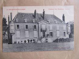 CPA - CHATEAU DU VEULERET - LIERNAIS - France