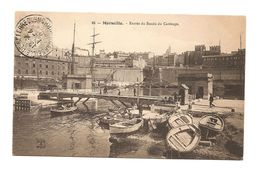 Marseille-Entrée Du Bassin Du Carénage. Nancy édition No 86. Bon état. Voir Scan. - Oude Haven (Vieux Port), Saint Victor, De Panier