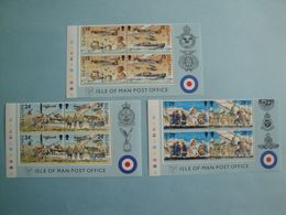 Bateaux 1990 Man Yv 467/52 X 2 ** MNH Michel 442/7  Scott 426/31  SG 449/54  Ships  WAR  II - Isola Di Man