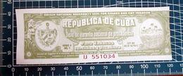 REPUBLICA DE CUBA   ADESIVO  STICKER KLEBER  ORIGINAL NEW - Stickers