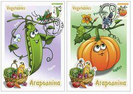 Belarus 2020 Seventeenth Definitive Issue. Vegetables 14 Cards - Bielorussia