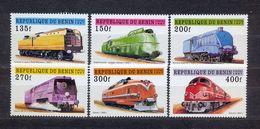 BENIN - MNH - TRAINS - MI.NO.912/7 - CV = 7 € - Bénin – Dahomey (1960-...)