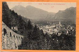 Bad Ragaz Switzerland 1907 Postcard - SG St. Gall