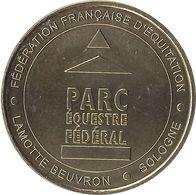 2019 MDP444 - LAMOTTE-BEUVRON - Fédération Française D'Equitation 2 (parc équestre) / MONNAIE DE PARIS - 2019