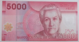 CILE 5000 PESOS 2009 P-163a   POLYMER  XF+ - Chile