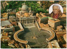 R1782 VATICAN CITTA DEL VATICANO BASILICA DI SAN PIETRO  And POPE BENEDETTO XVI 2012 (Format: 160 X 115 Mm.) - Vatican