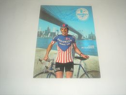 Photo CYCLISME Signé Par  ROGER DE VLAEMINCK , Brooklyn , Signature Authographe - Photographie