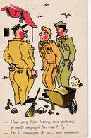 CPSM HUMOUR Militaire Bidasses Vous Avez L'air Bouché ... - Humor