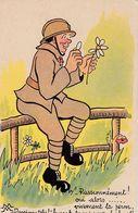 CPSM HUMOUR Militaire Bidasse Passionnément... Vivement La Perm. - Humor