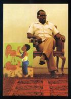 Haiti. *Jaques Chery Et Son Ouvrage D'art Dans La Galerie Nader* Nueva. - Ansichtskarten
