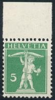 Schweiz / Suisse - Zumstein 125II - Michel 113II - Postfrisch/** MNH - Unused Stamps