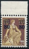 Schweiz / Suisse - Zumstein 135 - Michel 127 - Postfrisch/** MNH - Unused Stamps