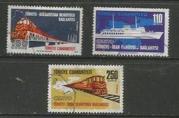 Turkey - 1971 International Rail Links Used - Oblitérés