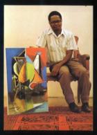 Haiti. *Dieudonné Cedor Et Son Ouvrage D'art Dans La Galerie Nader* Nueva. - Ansichtskarten