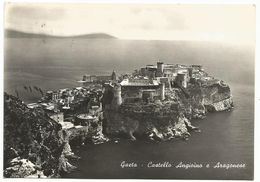XW 2986 Gaeta (Latina) - Castello Angioino E Aragonese - Panorama / Viaggiata 1961 - Italy