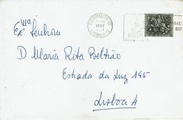 Santuário De Fátima  Mechanical Postmark ,  Patriarcado De Lisboa Envelope - Postmark Collection