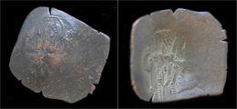 Byzantine Isaac II Angelus Billon Aspron Trachy - Byzantines