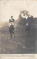 COURSES-PARIS- GRAND PRIX- 1905, LE VAINQUEUR FINASSEUR, MONTE PAR NASH TURNER -CARTE-PHOTO - Hípica