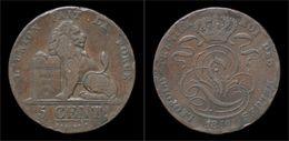 Belgium Leopold I 5 Centimes 1849 - 1831-1865: Leopold I