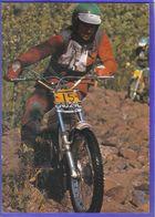 Carte Postale Motocross Enduro Trés Beau Plan - Motociclismo