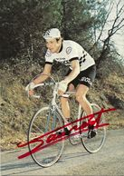 CARTE CYCLISME MICHEL LAURENT SIGNEE TEAM PEUGEOT 1979 - Wielrennen