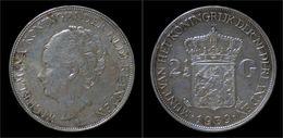 Netherlands Wilhelmina I 2 1/2 Gulden(rijksdaalder)1939 - 2 1/2 Gulden