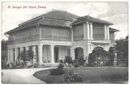 Malaysia (Malacca) – St. George's Girl School – Penang – Year Circa 1920 - Malaysia