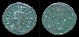Allectus AE Antoninianus Pax Standing Left - 5. The Military Crisis (235 AD To 284 AD)
