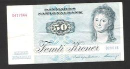 Danmark - Denmark - 50 Kroner - Serie 1972 - Used Condition - Dinamarca