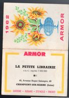 Champigny Sur Seine (94 Val De Marne) Calendrier 1962 LA PETITE LIBRAIRIE / ARMOR (PPP23240) - Calendriers