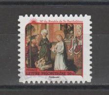 "FRANCE / 2011 / Y&T N° AA 631 : ""Nativités"" (Retable De St Barthélémy) - Choisi - Cachet Rond - Francia"